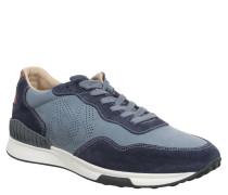 Sneaker, Leder, herausnehmbare Einlage, Blau