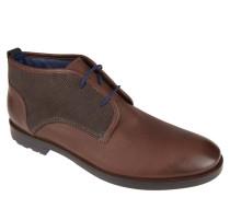 """Desert Boots """"Scurio-HW"""", Material-Mix, Braun"""