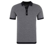 Poloshirt, Baumwolle, Struktur, Ripp-Bündchen