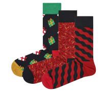 """Socken, Geschenkbox """"Weihnachten"""", 3er-Pack"""