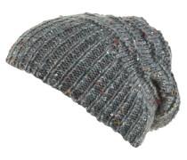 Mütze, Strick, Pailletten, gefüttert, Woll-Anteil