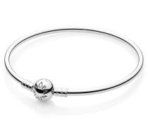 Charm-Armreif Silber mit Kugelverschluss 590713-19