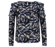Bluse, Rüschen, Allover-Muster
