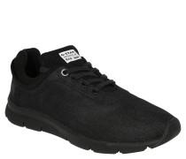 Sneaker, Textil, Schwarz