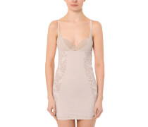 Magic Boost Shape-Kleid, Besatz aus Spitze, Lila
