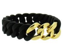 "Armband ""Mini"" 107962 Edelstahl schwarz gold"