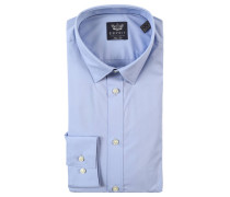 Businesshemd, Slim-Fit, Kentkragen,, Blau