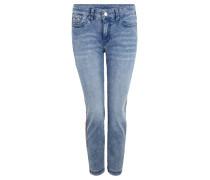 """Jeans """"Dream Skinny"""", Slim Fit, 7/8-Länge, Zierstreifen"""