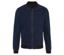 Blouson, Jeans-Look, elastische Einsätze, Blau