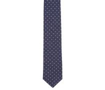 Krawatte, Seiden-Mix, gepunktet
