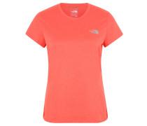 T-Shirt, schnelltrocknend, Rundhals, für Damen, Rot