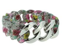 "Armband ""Original"" 107408 Edelstahl, florales Muster, silber"