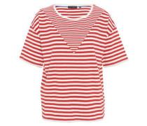 T-Shirt, gestreift, Rundhals
