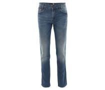 Jeans, Modern Fit, Ziernähte