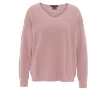Pullover, Struktur-Muster, Teilungsnaht, Woll-Anteil