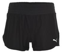 Shorts, Mesh-Gewebe, für Damen, Schwarz