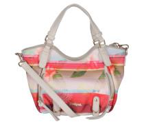 "Handtasche ""Rotterdam Mini Polynesia"", floral, Rot"