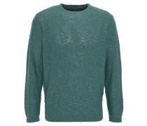 Pullover, Strick, meliert, Grün