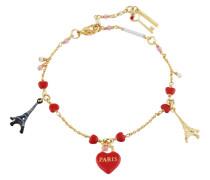 "Armband ""From Paris with love"", AHFP201/1, rot"