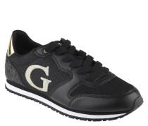 Sneaker, Logo-Design, Glitzer-Effekt, Schwarz