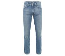 Jeans, Denim, Gesäßtaschen, Blau