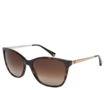 "Sonnenbrille, ""EA 4025"", Havanna-Design, Verlaufsgläser"