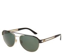 """Sonnenbrille """"VE 2165"""", gemusterte Bügel, Emblem"""