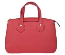 """Handtasche """"Giada M"""", Leder, abnehmbarer Schultergurt, Rot"""