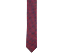 Krawatte, Seide, geometrisches Muster