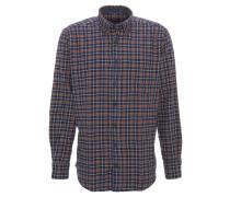 Hemd, Karo-Muster, Button-Down-Kragen, Brusttasche, Langarm
