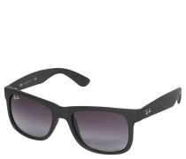 """Sonnenbrille """"RB 4165 Justin"""", schwarz-grau, Verlaufsgläser"""