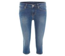 "3/4-Jeans ""Jasmin Capri"", Waschung, Slim Fit, Stretch"