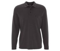 Poloshirt, Langarm, Brusttasche, pflegeleicht