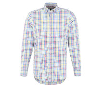 Freizeithemd, Button-Down, Casual-Fit, Blau