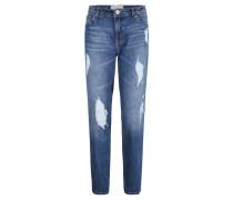 "Jeans ""Liv"", Boyfriend-Stil, Used-Look"