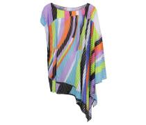 Strandshirt, asymmetrischer Schnitt, Streifen
