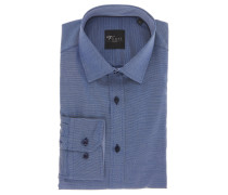 "Businesshemd ""Black Label"", Slim Fit, Kent-Kragen, Blau"