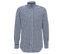Freizeithemd, Modern Fit, Button-Down, Braun