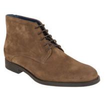 Desert-Boots, Veloursleder, 5-Loch-Schnürung