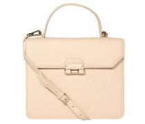 """Handtasche """"Chiara"""", genarbtes Leder, Beige"""