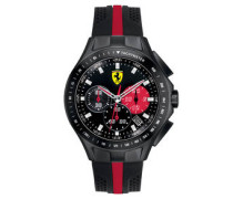 "Herrenuhr, ""SF103 RACE DAY"", Chronograph, schwarz/rot, 0830023"