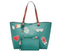 Handtaschen für Damen RACHEL STICKER TOTE TEAL GREENSACS FEMMES RACHEL STICKER TOTE, Grün