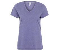 T-Shirt, schnelltrocknend, meliert, für Damen, Lila