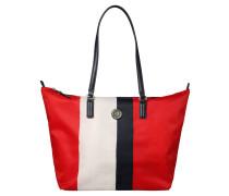Shopper, Colour-Blocking-Design, Reißverschluss, Mehrfarbig
