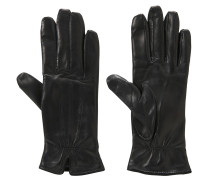 Handschuhe, Leder, Woll-Futter
