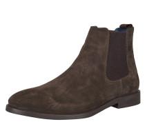 Chelsea Boots, Zugschlaufe, Braun