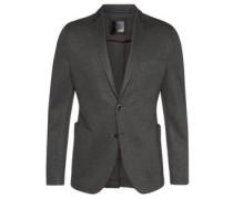 Black Label Sakko als Anzug-Baukasten-Artikel, meliert, Jersey, Slim Fit