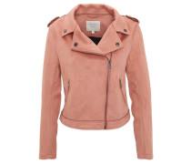 Jacke, Reverskragen, Reißverschlusstaschen, Schulter-Riegel