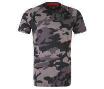 Oakland Raiders T-Shirt, Camouflage, für Herren, Grau