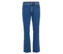 "Jeans-Hose ""Dijon"", Five-Pocket, Blau"